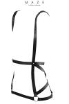 Robe harnais noire - Maze