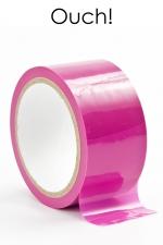 Ruban de bondage 20 m - rose : ruban de bondage rose (20 m), non collant, utilisable pour toutes sortes de jeux coquins, au gré de vos fantasmes.
