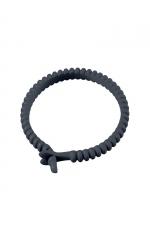 Cockring ajustable Adjust Ring - Dorcel : Anneau de pénis réglable 100% silicone pour bien contrôler votre érection.