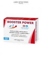 Aphrodisiaque masculin Booster Power (30 comprimés) : Aphrodisiaque masculin 4 en 1 : améliore l'érection, augmente le volume de sperme, contrôle l'éjaculation, accroit le plaisir (boite de 30 comprimés).
