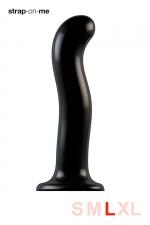 Dildo point P et G taille L - Strap On Me : Gode 100% silicone hommes et femmes, taille L, conçu pour stimuler le point G ou le point P, compatible harnais Strap-On-Me.