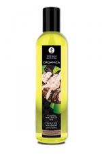 Huile Bio de massage érotique Organica : Huile de massage Erotique Bio Chocolat Enivrant ou Douceur d'amande, par Shunga.