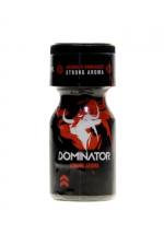 Poppers Black Dominator 10ml : Aphrodisiaque d'ambiance hybride (amyl + propyl) Ultra puissant (flacon de 10 ml), élaboré par Jolt.